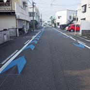 路面標示(自転車レーン)