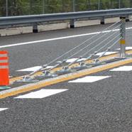 ワイヤーロープ式防護柵
